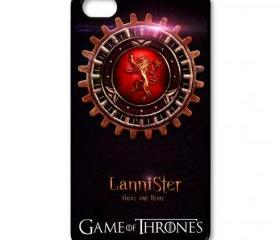 iPhone 4 4s / 5 Case - Game Of Thrones 01 - Hard Case ( Black / White Color Case )